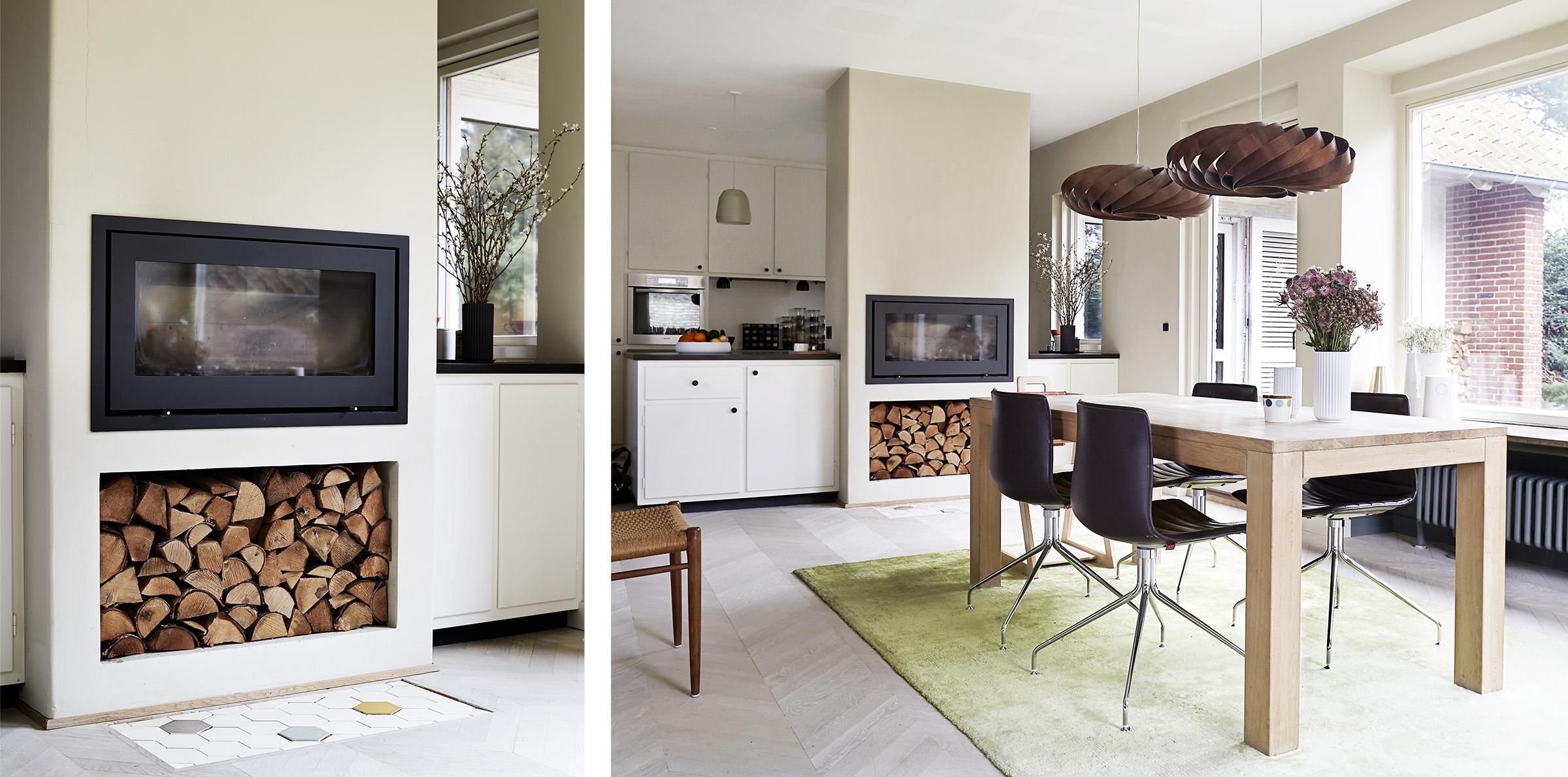 Arkitektens farverige 50'er villa   danske boligarkitekter