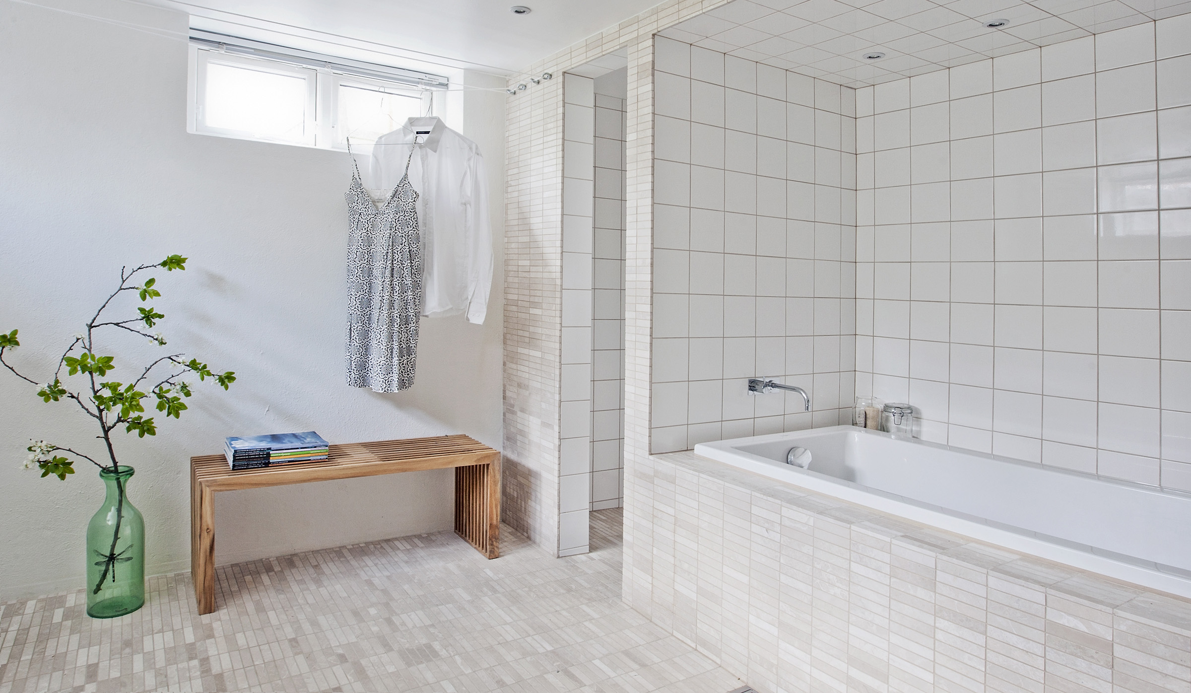 Arkitektens kælderbad - Danske Boligarkitekter